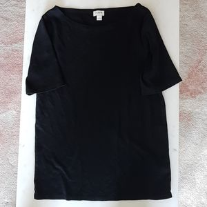 J Crew Basic Black T-shirt